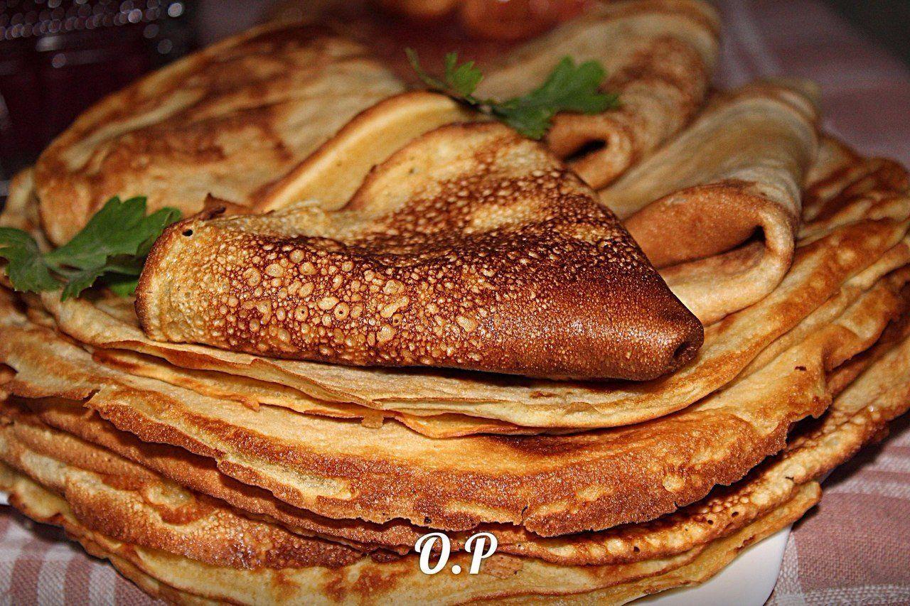 Блины из кукурузной муки рецепт с фото