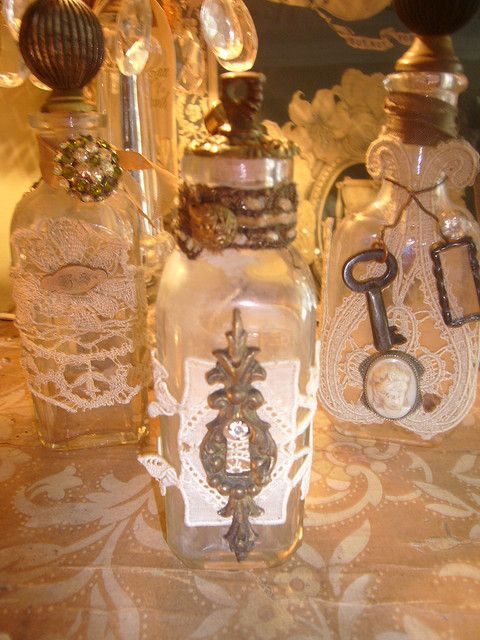 How To Decorate Old Bottles Old Decorated Bottles  Decorated Bottles Bottle And Decorating
