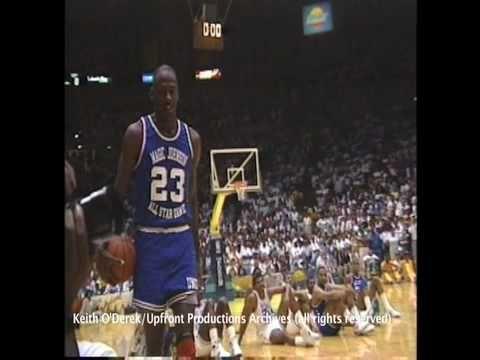 f2bc19cc3fa Jordan Dunk During Magic Charity Game   Great Sports Plays   Sports ...