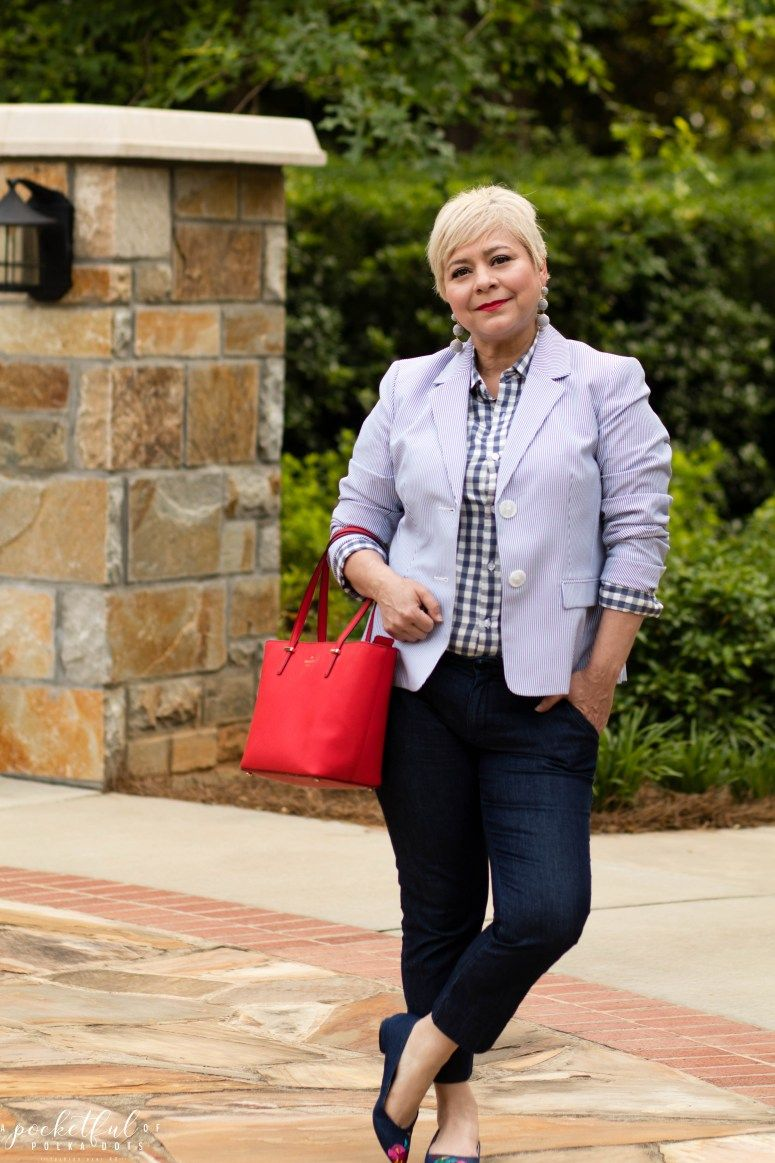 9 to 5 Style in Gingham   Jennie Style   Pinterest   Style, Gingham