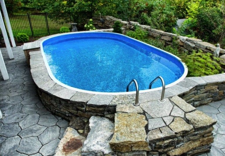 Gorgeous Biggest Above Ground Round Pool Outdoorpooldesign Outdoorpoolarea Indooroutdoorpool Outdoorpooll Backyard Pool Above Ground Pool Small Pool Design