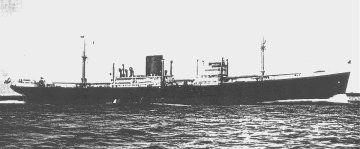 25 September 1940 worldwartwo.filminspector.com Gerrman freighter Weser