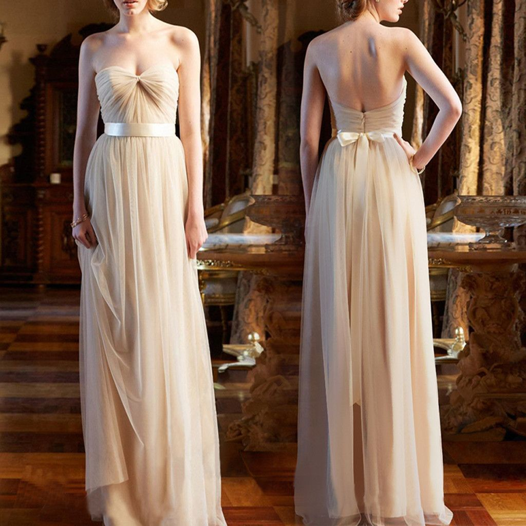 Charming elegant pleats sweetheart strapless backless aline simple