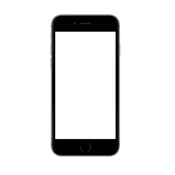 Apple Iphone6 Spacegrey Portrait Png 740 740 Snapchat Filter Design Iphone Mockup Ipad Mockup