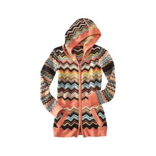 $94.99 cool Missoni for Target Tunic Zippered Hoodie