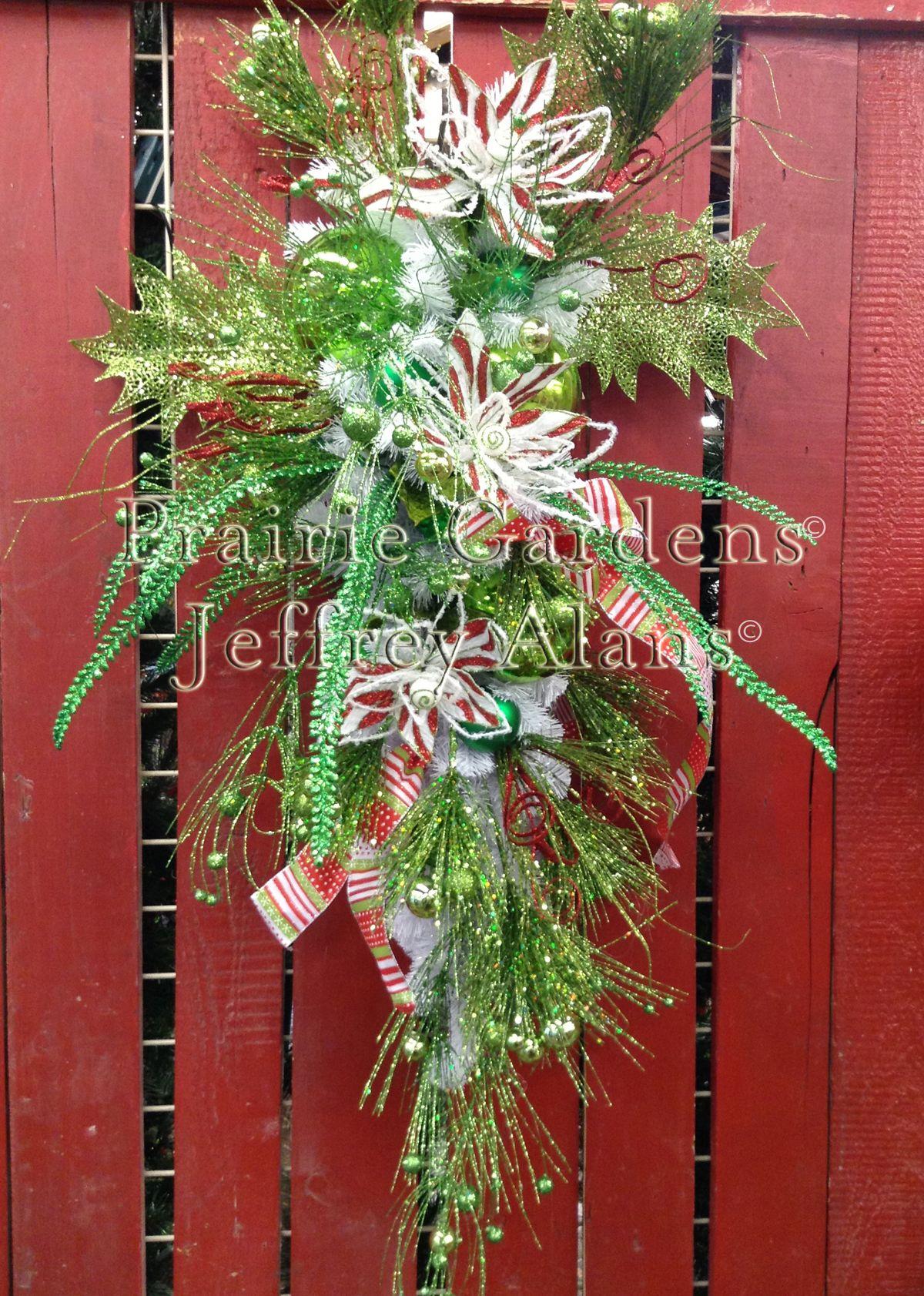 Merry & Bright Christmas Swag ––– Prairie Gardens Champaign ...