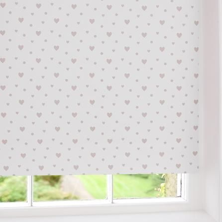 hearts blackout roller blind dunelm mill baby smith. Black Bedroom Furniture Sets. Home Design Ideas