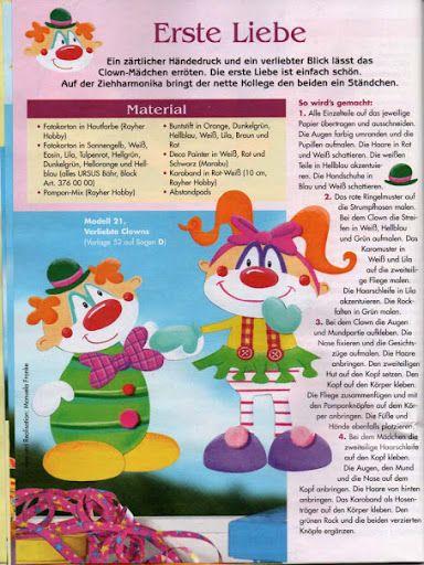 Fensterbilder Clowns Manege Frei Jana Rakovska álbumes Web De