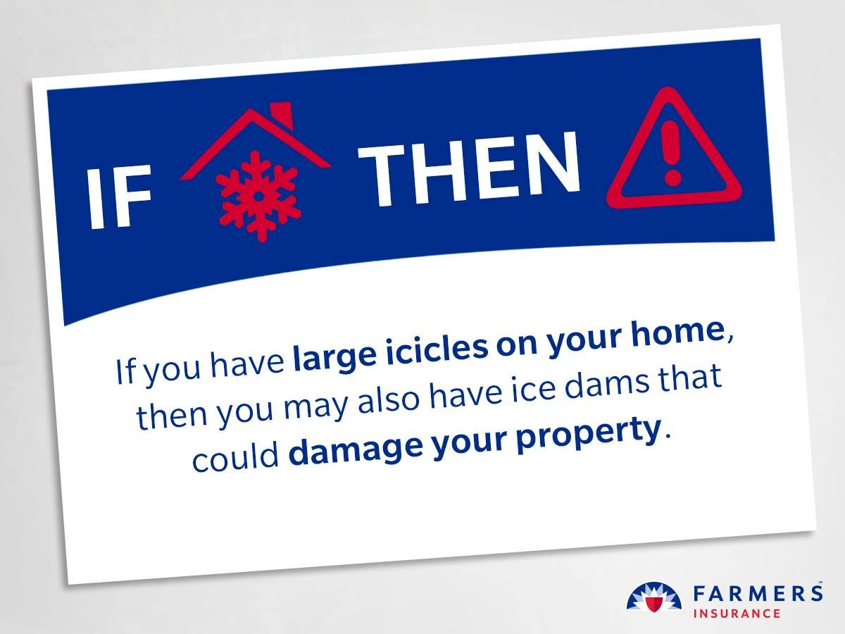 Large icicles look cool, but they're dangerous in more ...