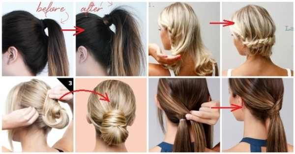 hair style bun creative ideas8 amazing ideas how to make simple but 7461 | aae60af5bcdbf7461e887096f2954da9