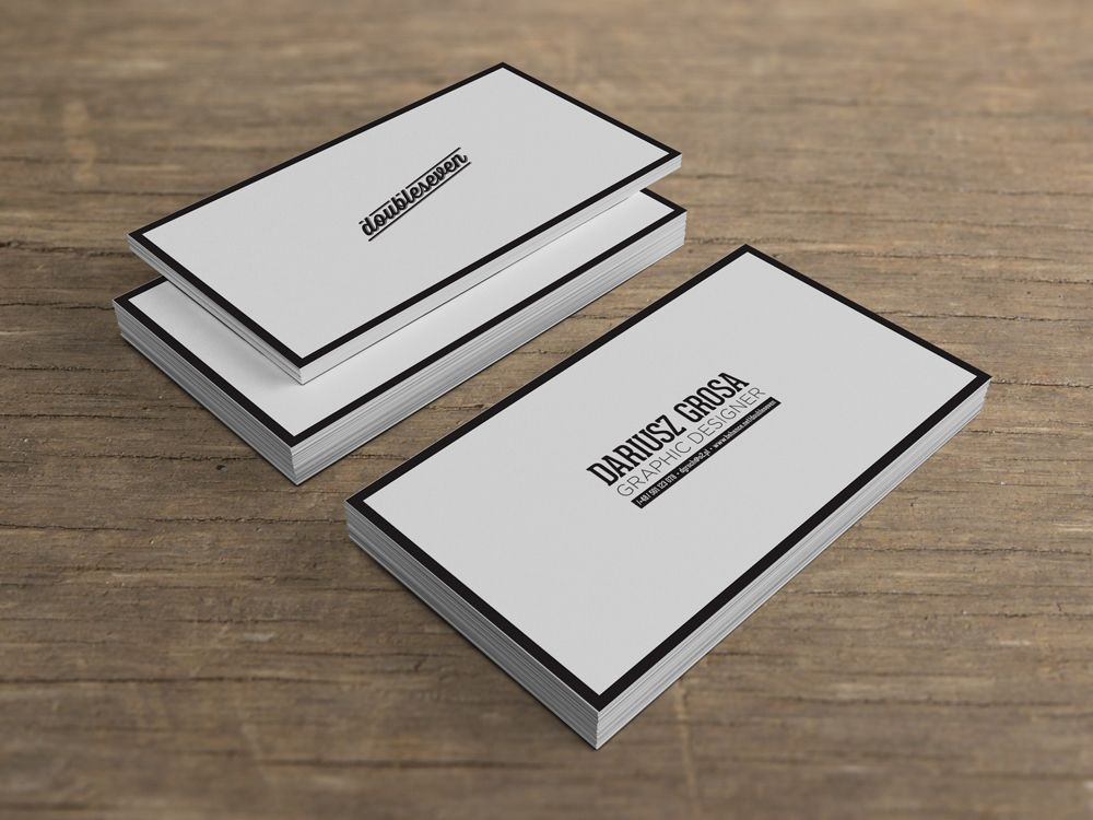Personal Business Card by DOUBLESEVEN (via Creattica) | Business ...