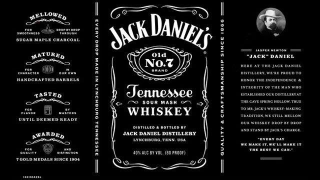 Jack Daniel's Label Redesign