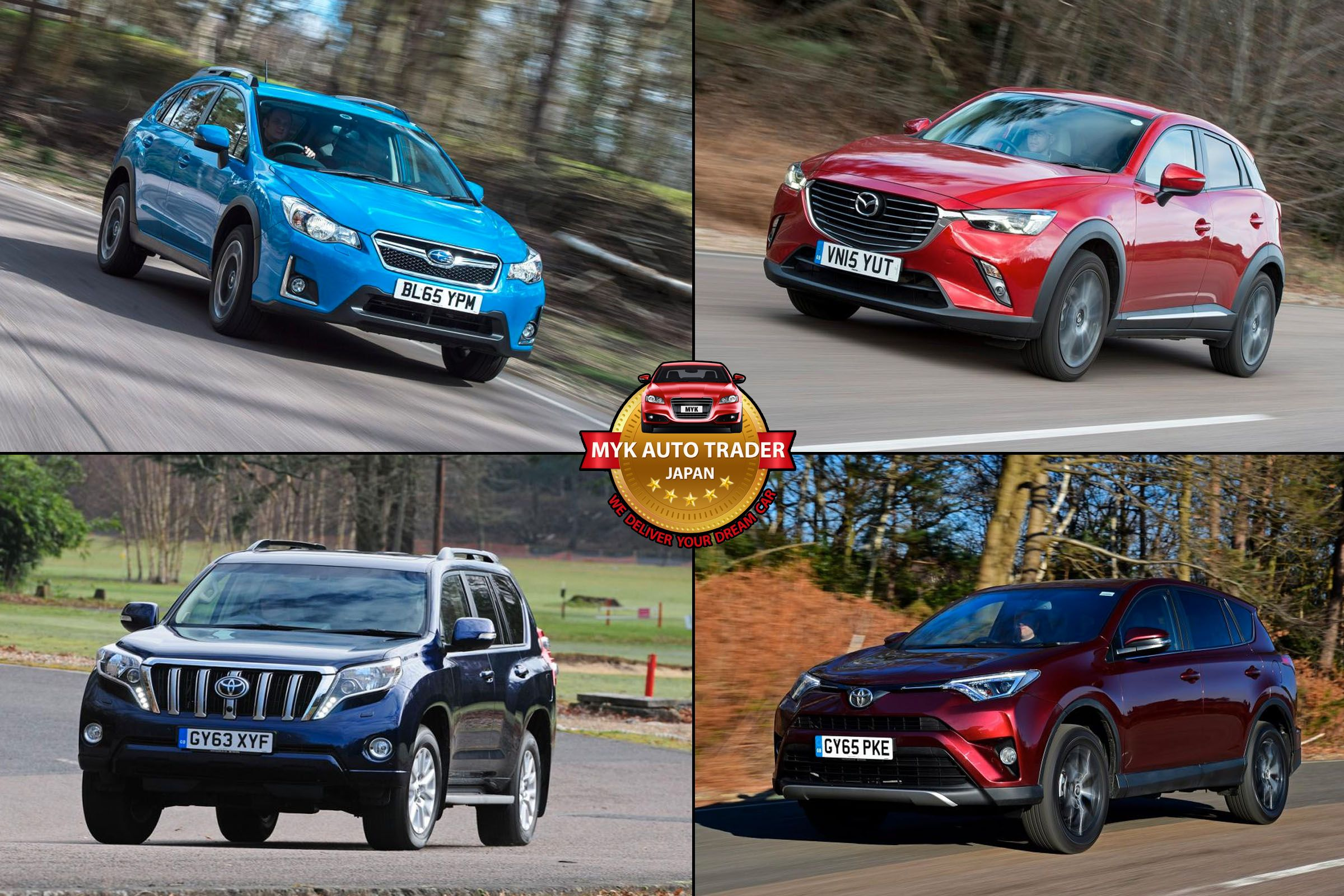 The Most Affordable Japanese Used SUVs In Kenya, Jamaica