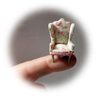 Miniaturas en mi mundo: El mobiliario 1/48