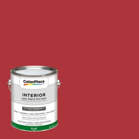 ColorPlace, Interior Paint, Crimson Red, #31YR 10/591