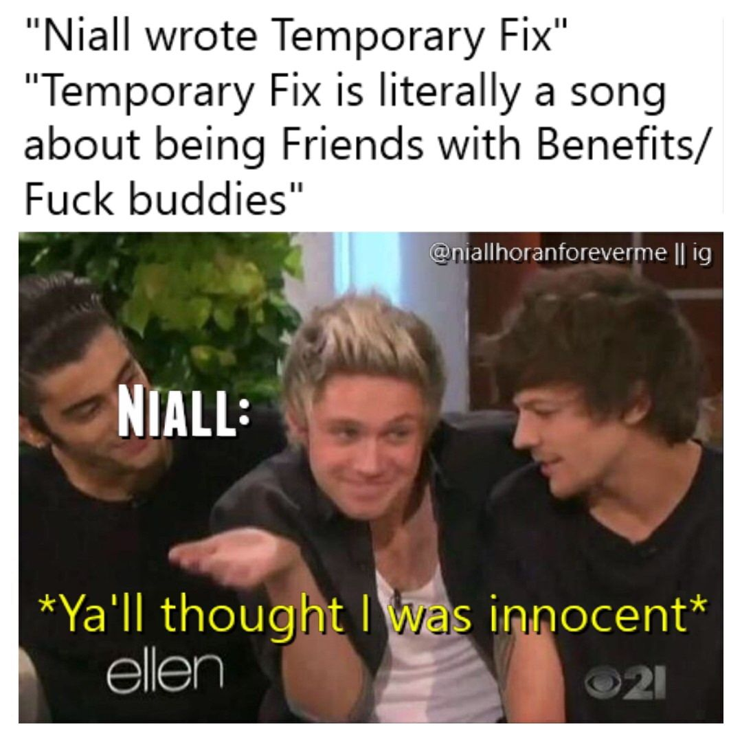 When Had Niall Ever Been Innocent?