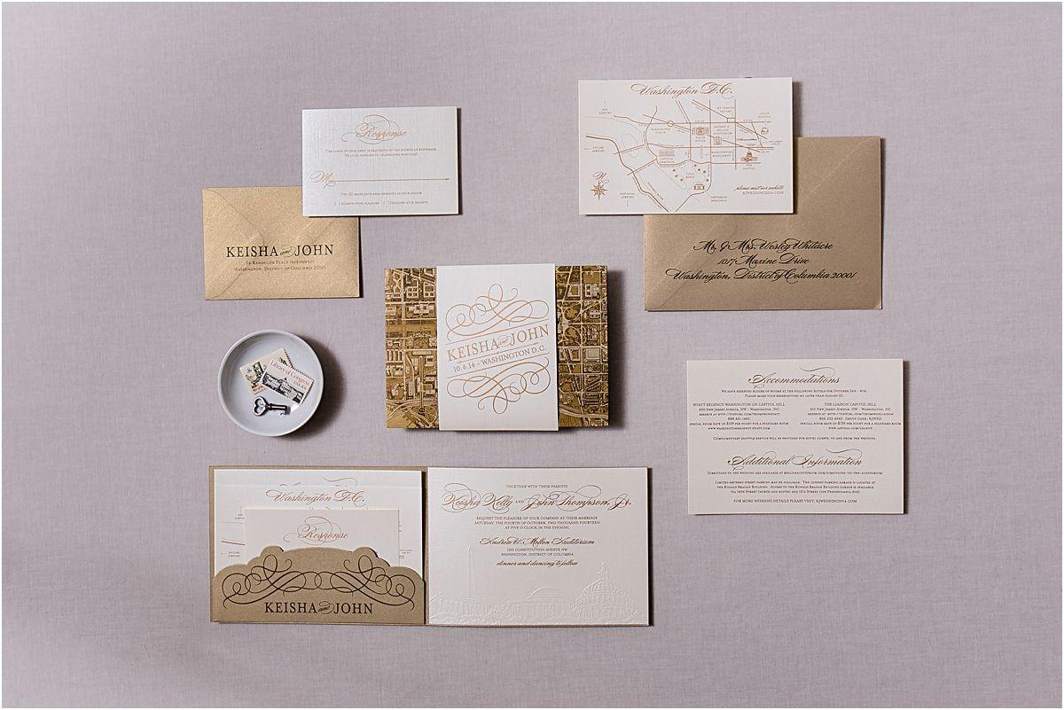 Washington Dc Themed Wedding Invitations Themed Weddings