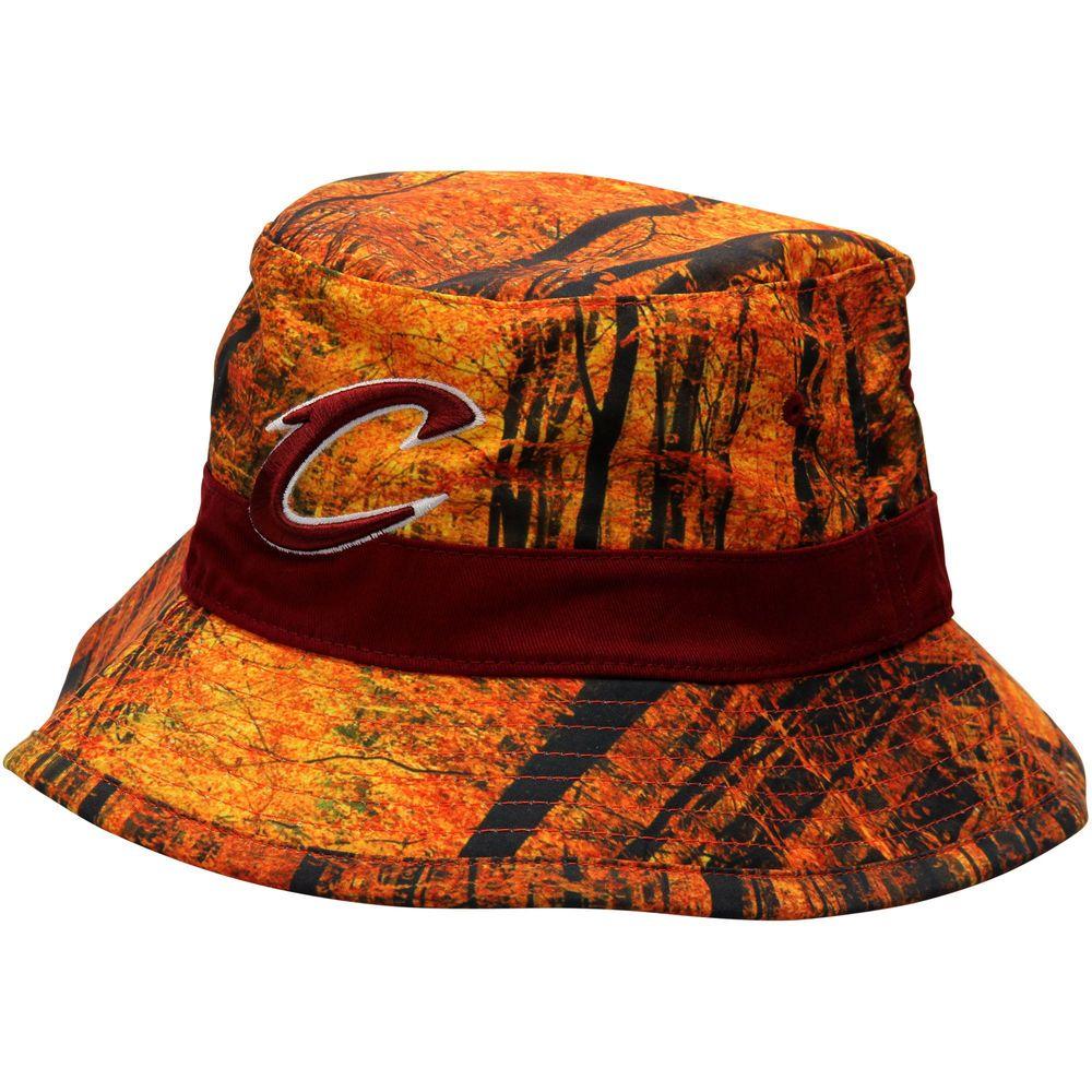 753d279d892d3 ... order mens cleveland cavaliers mitchell ness forest camo current logo bucket  hat ea0e6 dc992