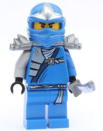 Amazon.com: Lego Ninjago Zane - White Ninja Minifigure: Toys & Games ...