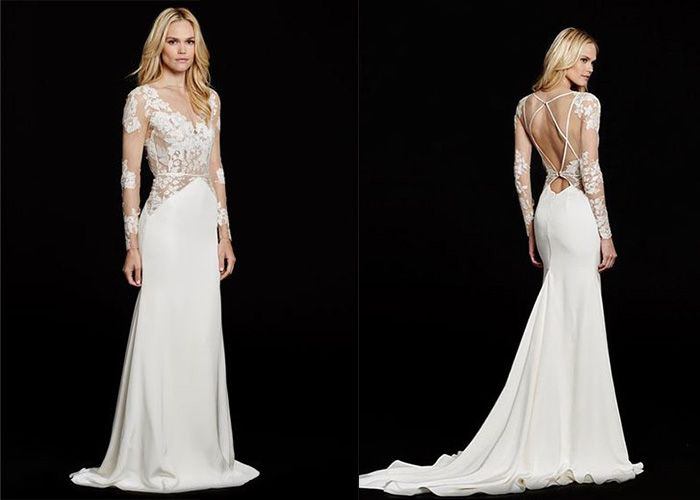 10 Slim & Sleek Wedding Gowns | Gowns, Wedding and Wedding dress