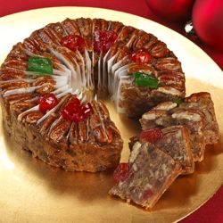 Fruitcake Fruit Cake Christmas Cakes Texas Pecan Mail Order Or Online Corsicana Collin Street Bakery Pre Sliced