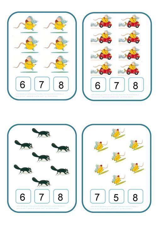 Pingl par christel ponsero sur 1 2 3 cartes clipser mimi la souris ducation et maternelle - Jeux de mimi la souris ...