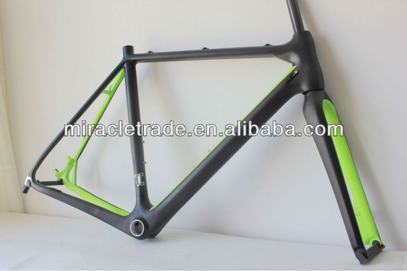 2013green_painted_carbon_cyclocross_bicycle_frame_bb86jpg 800534 mtb frame paint schemes pinterest