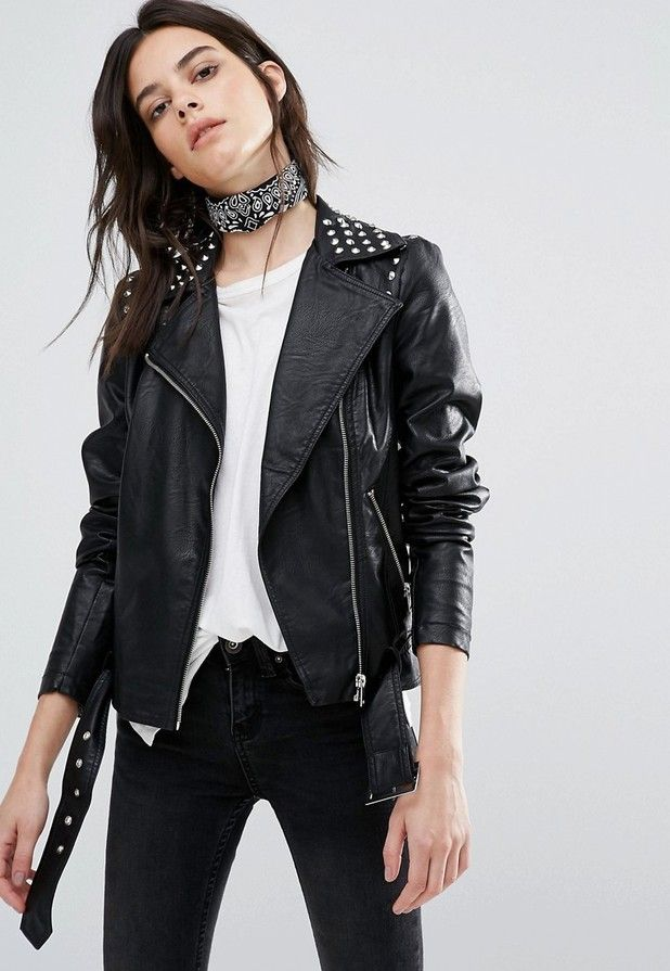 720aabdec Vero Moda faux leather jacket | Mix n Match in 2019 | Faux leather ...