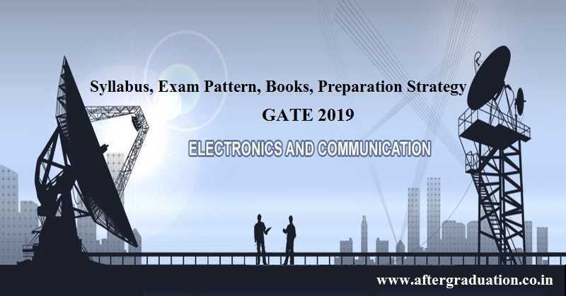 GATE 2019 ECE Syllabus, Exam Pattern, Reference Books for