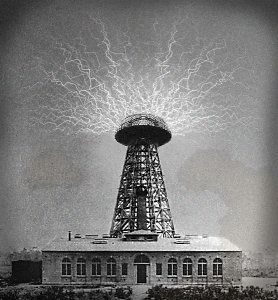 Wardenclyffe Tower (1901–1917) also known as the Tesla Tower