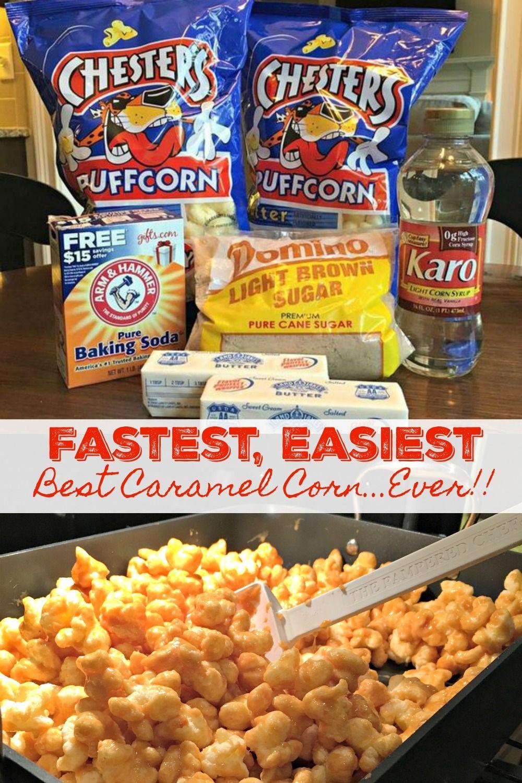 Best Caramel Corn Recipe…Ever!