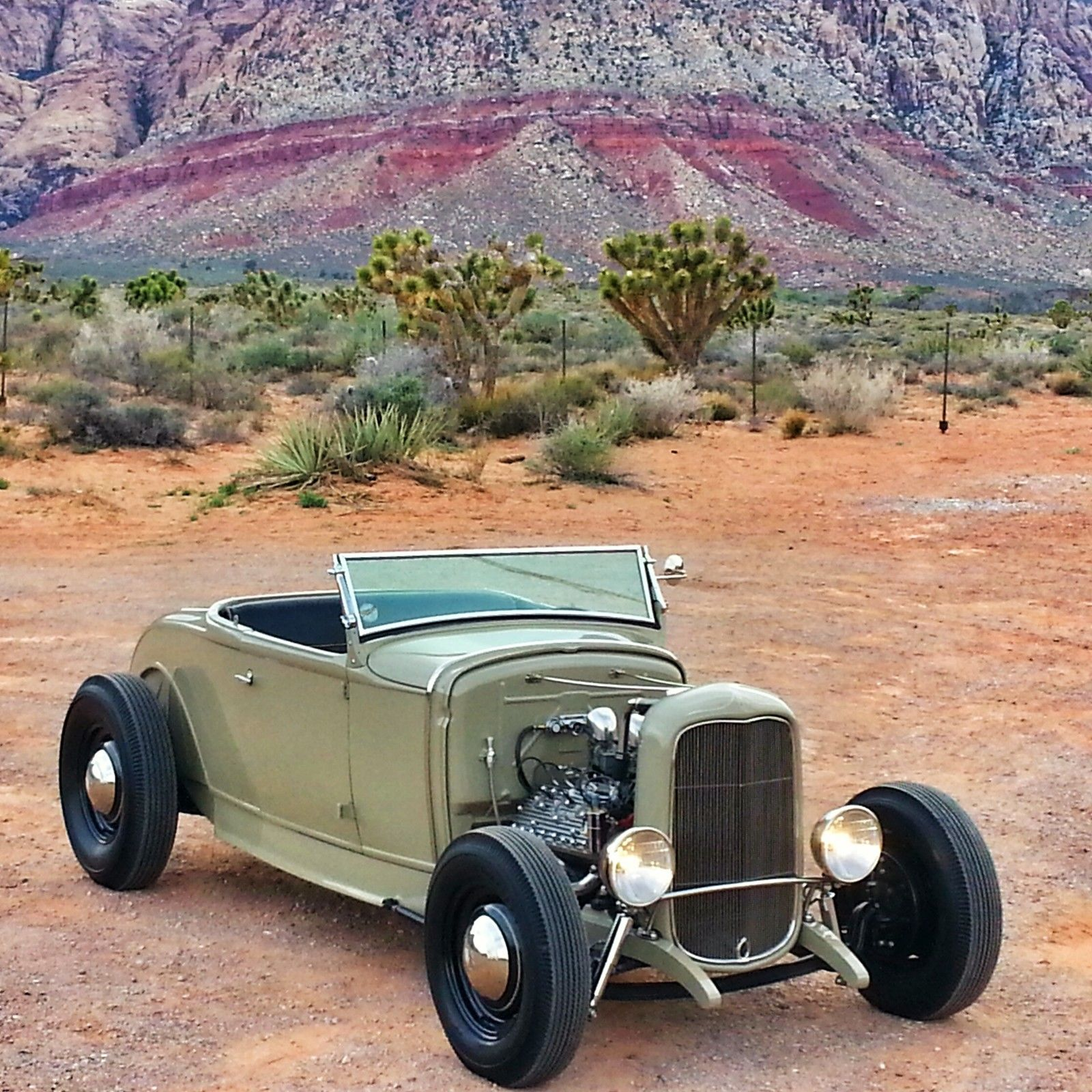 '30 Ford Model A Roadster