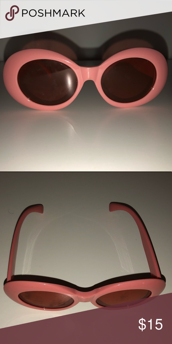 912bcc3a8e Real pink orange clout goggles w  tinted glass Urban outfitters    used  once before Urban Outfitters Other