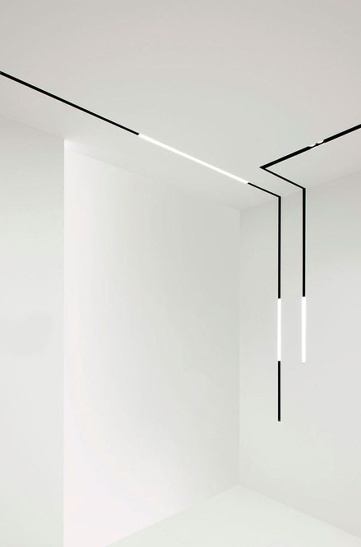 Minimalist Linear Pendant Light