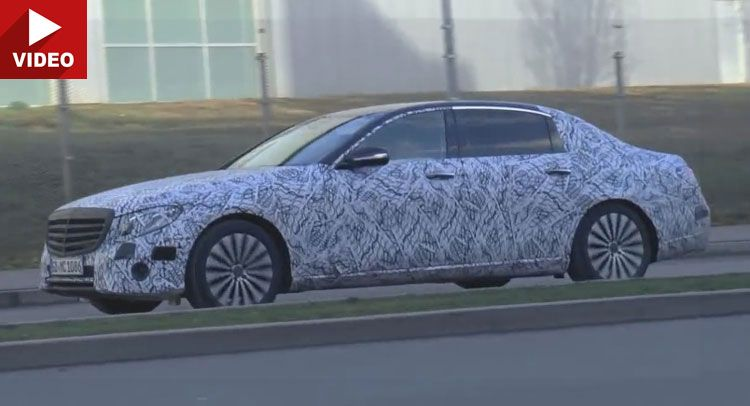 2017 Mercedes-Benz E-Class LWB Scooped Once Again