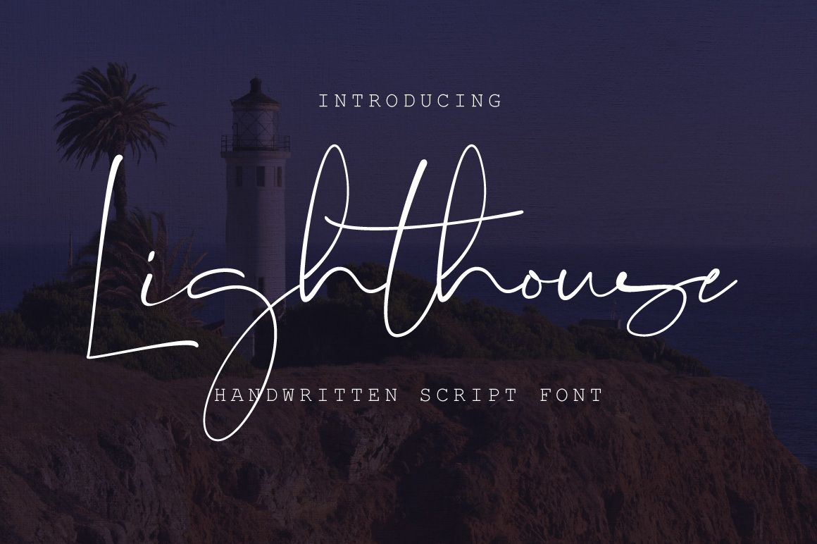 Lucida Calligraphy Font Free Download Lighthouse Script Font Fonts All Pinterest Fonts