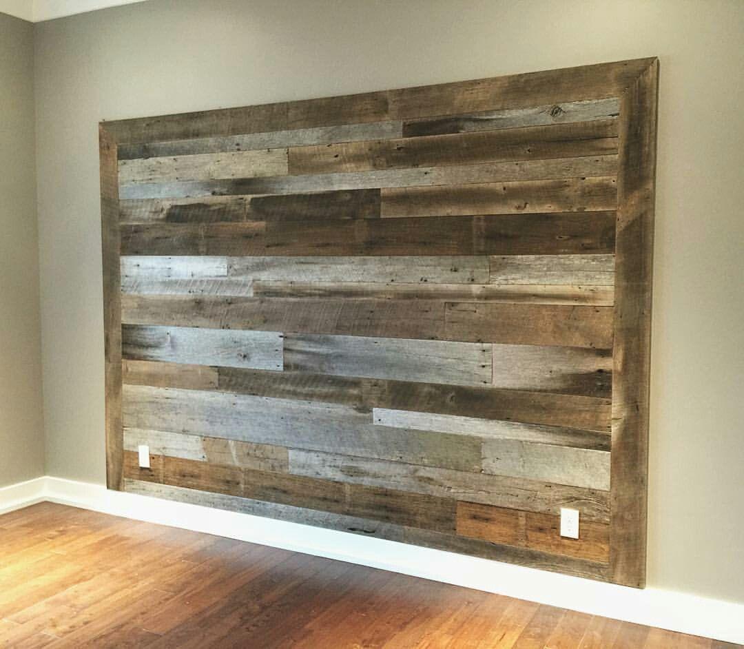 Headboard Idea Diy Wood Headboard Wood Wall Headboard Diy Wood