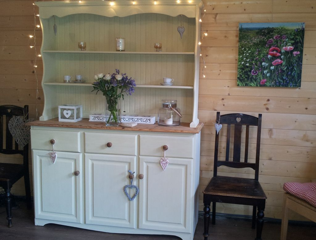 huge whitstable chic handpainted pine with spice drawers product deep unique wide tall dresser solid
