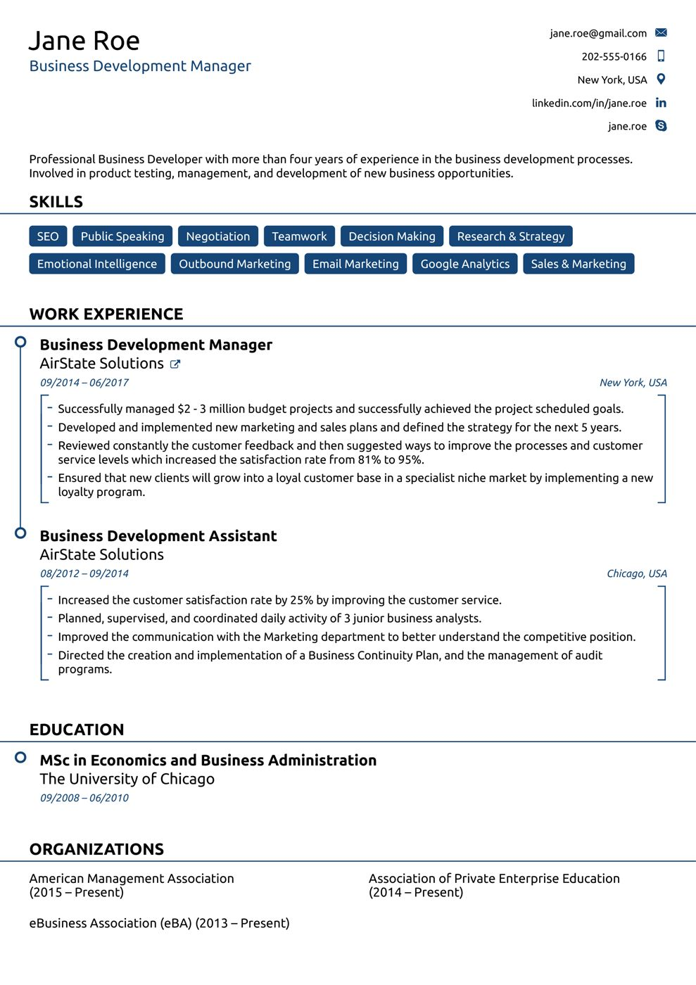 Free Resume Templates For 2019 [Download Now] inside