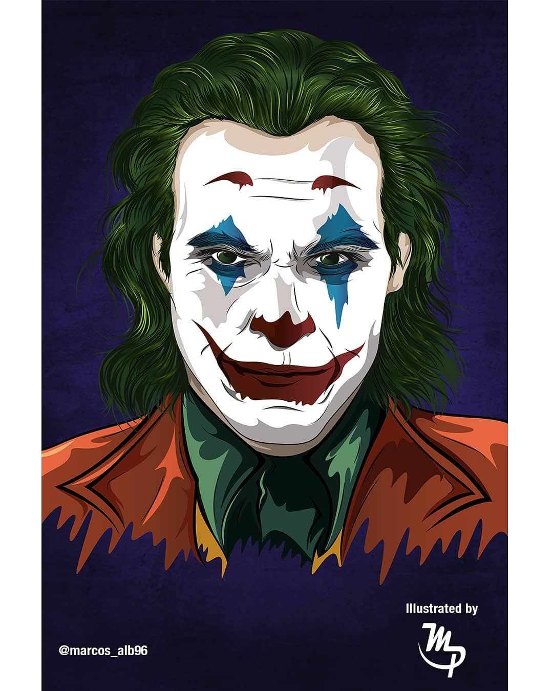 Marcoss Ilustrador On Instagram Joker 2019 La
