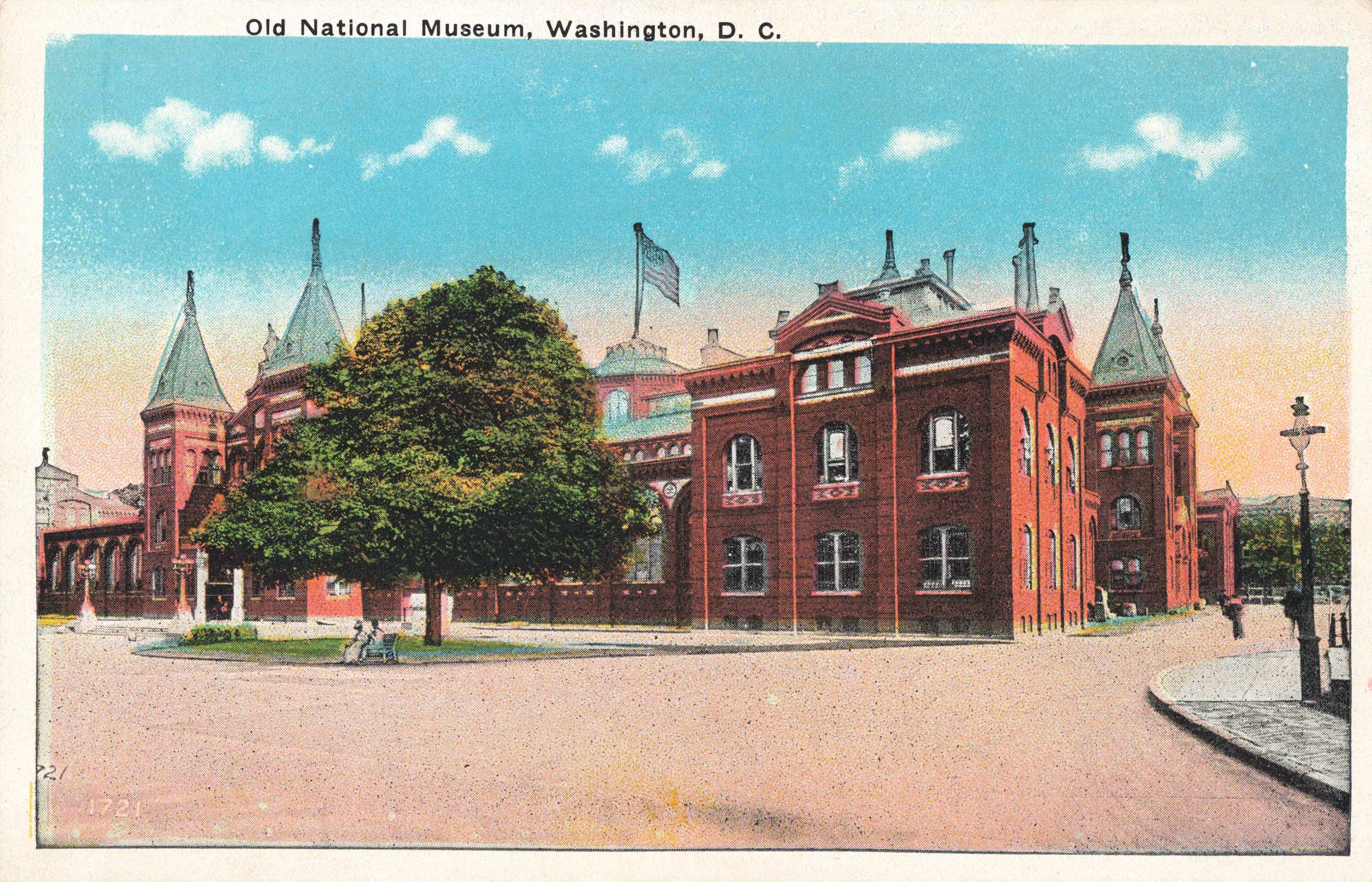 Postcard Old National Museum Washington DC in 2020