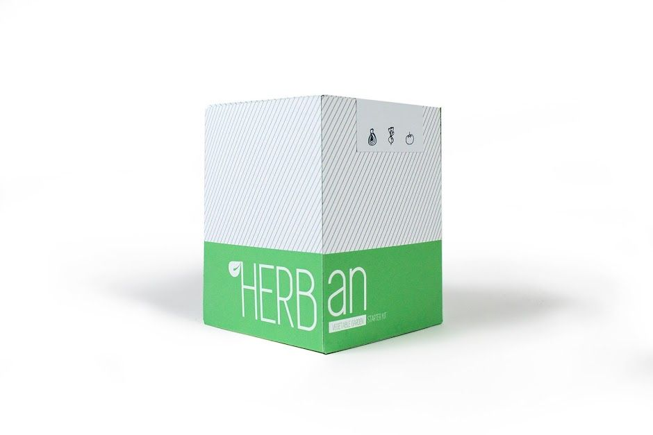 HERBan - Urban Gardening System (Student Project) on Packaging of the World - Creative Package Design Gallery
