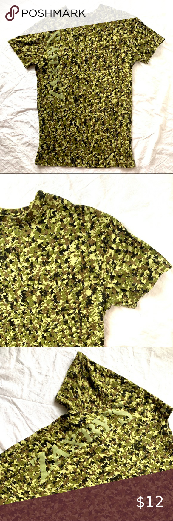 Zaxby's Men's XS Camouflaged Tshirt in 2020 Camouflage