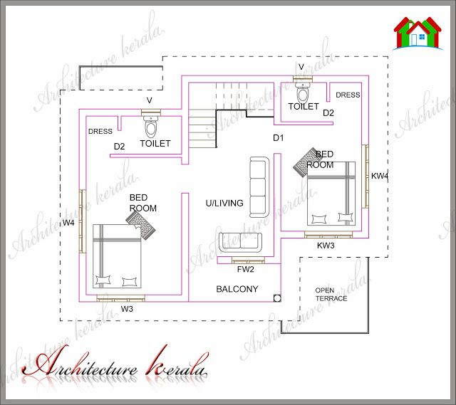 Architecture kerala low medium cost house designs for Middle class house plans with photos