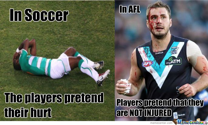 Sportyviews Com Football Fails Afl Funny Soccer Memes Afl Soccer Memes