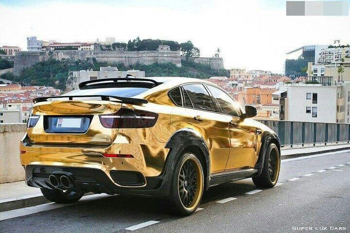 Gold Bmw X6 Talk About Gaudy Perfection Bmw Gold Bmw X6 Cars Bmw