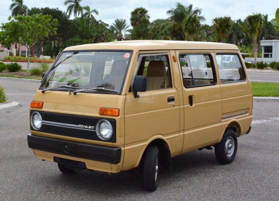 1983 Daihatsu Hijet Daihatsu Vintage Vans Classic Japanese Cars