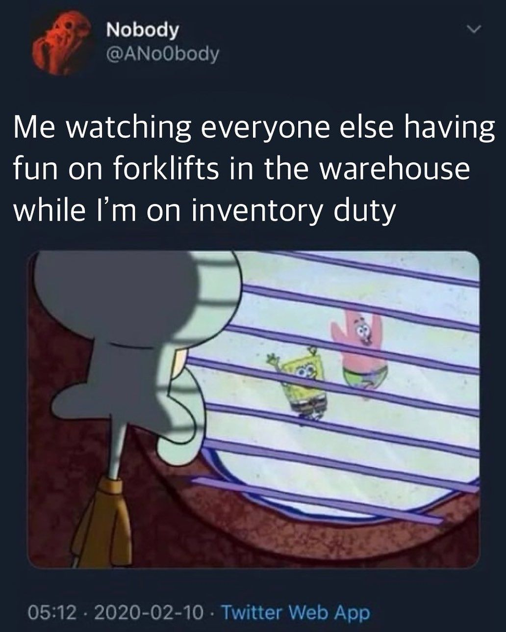 Forklift Operator I Want To Go To There Silly Memes Original Memes Famous Memes
