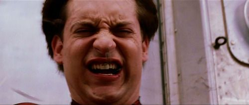 tobey maguire ugly cry gif - Google Search | Spider-Man | Pinterest | Search