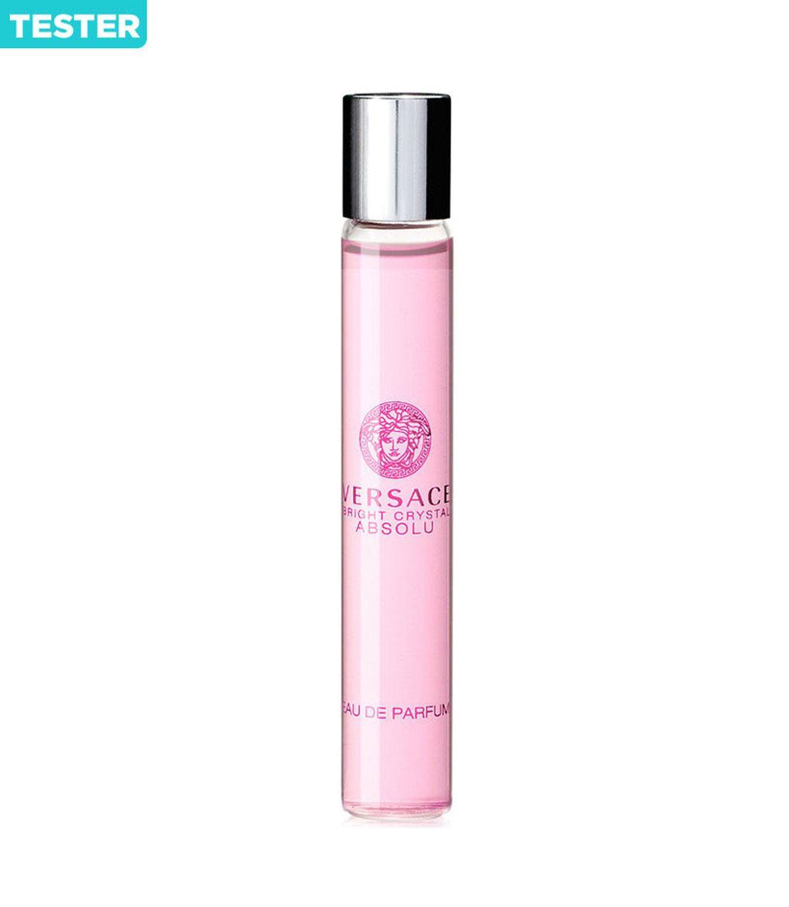 Versace Bright Crystal Absolu Eau De Parfum Roller Ball 3 Oz Mini Tester Versace Bright Crystal Perfume Perfume Testers